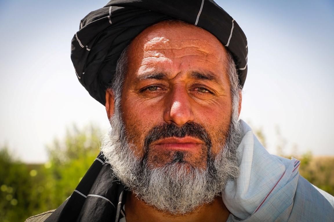 Maliq Muhamad Daud from Kwaja Ali Baba village