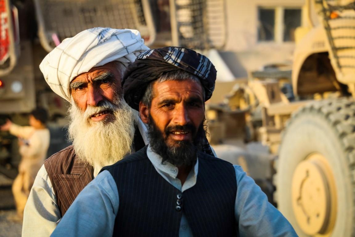 An-elder-afghan-on-his-way